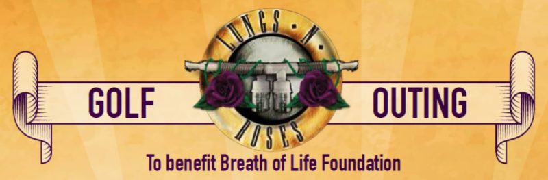 Lungs n Roses Golf Outing Banner